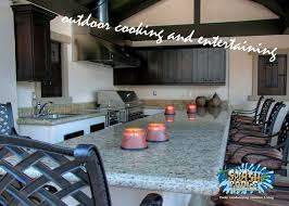 outdoor kitchen ideas splash pools and construction