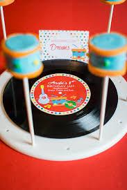 1st Birthday Party Ideas Decoration Music Birthday Jam Party Printables Supplies U0026 Decorations