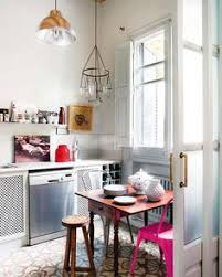 Home Decor Interior by Cozy Tiny Apartment In Madrid With A Youthful And Chic Interior