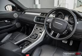 white land rover interior range rover evoque convertible si4 review video performancedrive