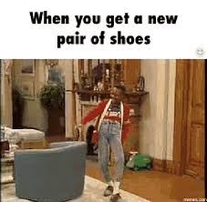 Buy All The Shoes Meme - shoes gif find share on giphy