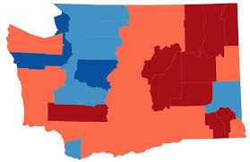 State Of Washington Map by This Election Map Is A Lie So We Made New Ones Kuow News And
