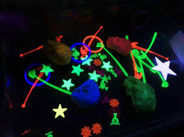 learning and exploring through play glow in the dark activities