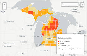 Msu Interactive Map Interactive Map See How Many Are On Disability In Your Community