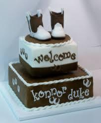 cowboy baby shower cakecentral com