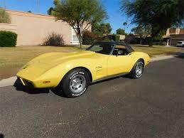 1975 corvette stingray for sale 1975 chevrolet corvette for sale on classiccars com 62 available