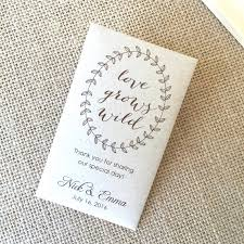wedding seed favors wedding ideas flower packets for wedding favors diy seed ideas