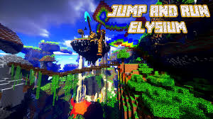 Dropper Map Jump And Run Elysium Map For Minecraft 1 11 1 10 2 Minecraft Maps