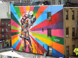 colourful new york street art to brighten your day and kick start vj day tribute wall mural eduardo kobra nyc