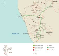 Sea Airport Map Route Map Hampi
