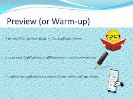 warm up get a quick check assessment from the teacher and begin