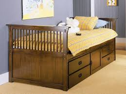 Twin Beds With Drawers Plans For Twin Captains Bed With Drawers Bedroom Ideas