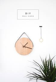 Minimalist Clock by Affordable Home Tip No 1