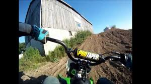 kawasaki klx 110 minimoto sx training gopro hd youtube