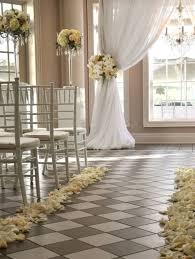 indoor decorations indoor wedding ceremonies indoor wedding ceremony aisle