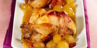 cuisiner caille cailles en cocotte au raisin et au cognac facile et pas cher