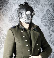 gas mask for halloween costume steampunk mask leather mask halloween mask larp