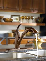 rubbed bronze pull kitchen faucet faucet 7545orb in rubbed bronze by moen