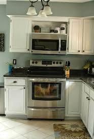 image result for open cabinet over microwave for the home