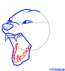 how to draw an angry dog angry dog step by step pets animals