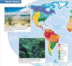 africa map climate zones world climate regions
