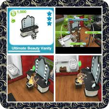 Vanity Box Makeup Artistry The Sims Freeplay Hobbies Makeup Artist The Who Games