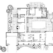 house plans with a courtyard plan courtyard moreover shaped house plans pool middle home