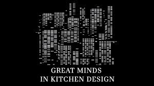 Kitchen Design Book Great Minds In Kitchen Design