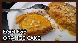 eggless orange cake recipe orange upside down cake microwave