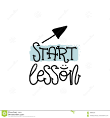 writing concept papers education and evaluation concept hand writing logo lessons start education and evaluation concept hand writing logo lessons start on white paper view from