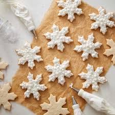 snowflake cookies buttercream snowflake cookies wilton