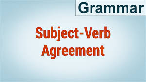 advanced subject verb agreement in english tutorial youtube