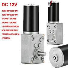 Jual Dc Gear Motor 12v gear motor ebay