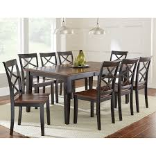 Dining Room Furniture Sets by Steve Silver 9 Piece Adrian Dining Table Set Hayneedle