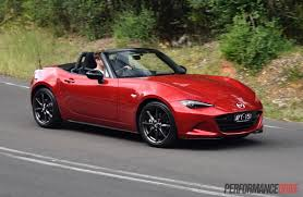 mazda roadster 2016 mazda mx 5 2 0l review video performancedrive