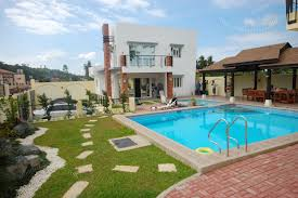 house with pools outdoors small houses with swimming pool trends and house design