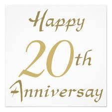 20th anniversary gift happy 20th anniversary clip 6