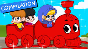 my magic train non stop baby tv 2 hours of kids movies and