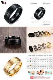 aliexpress buy vnox 2016 new wedding rings for women visit to buy vnox 8mm black men ring 100 titanium carbide men s