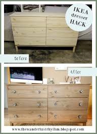 Ikea Hack Dresser by The Wanderlust Rhythm Ikea Hack Tarva Dresser