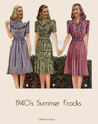 1940s dresses easy guide to a 1940 s woman s dress style glamourdaze