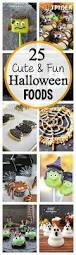 25 fun halloween food ideas crazy little projects