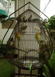 Birdcage Decor For Sale Birdcage On Stand In Antique Gold Finish From The Philippines