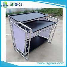 Dj Desk China Aluminum Dj Desk Dj Table Dj Booth China Dj Booth Dj Table