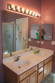 How To Change Bathroom Vanity How To Replace Bathroom Vanity Light Lighting Change Bulb Install
