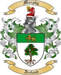 murphy family crest from ireland2 by the tree maker
