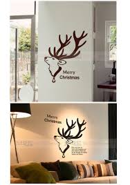 aliexpress com buy christmas wall decal quote merry christmas mcm063 3