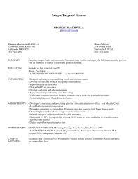 Resume Samples For Marketing Jobs by Target Resume Samples Haadyaooverbayresort Com