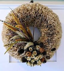 wreaths with coffee filters creative crafts for home