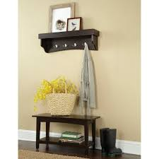 Coat Tree With Bench Entryway Bench And Coat Rack Set With Storage Compartment